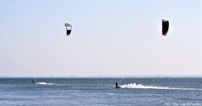 Fehmarn: Auch ein Paradies für Kitesurfer