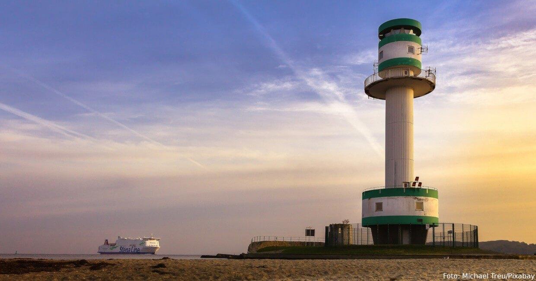 Leuchtturm Friedrichsort bei Kiel