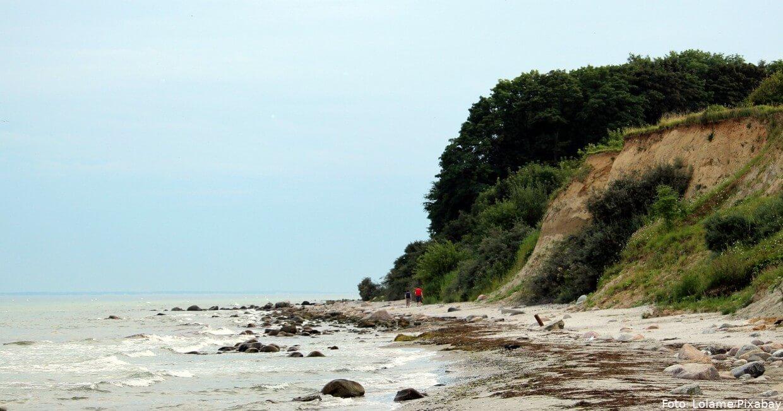 Steilküste bei Grömitz