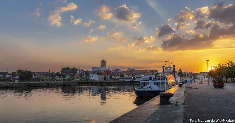 Hafen von Wolgast