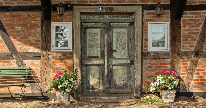 Darßer Haustür 1