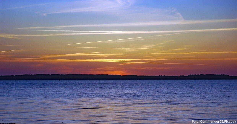Sonnenuntergang in der Eckernförder Bucht