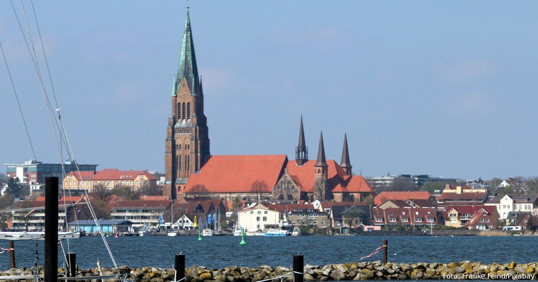 Weithin sichtbar: Dom zu Schleswig
