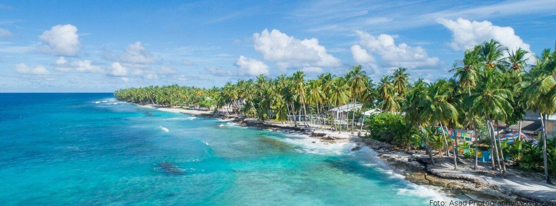 Die Malediven sind besonders durch den steigenden Meeresspiegel bedroht