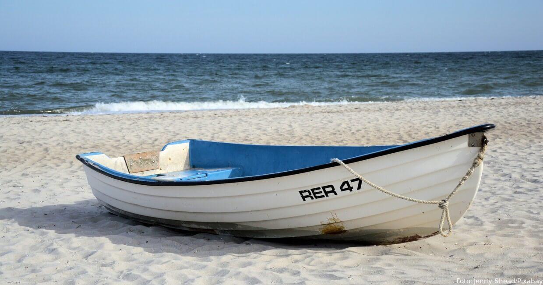 Am Strand von Rerik