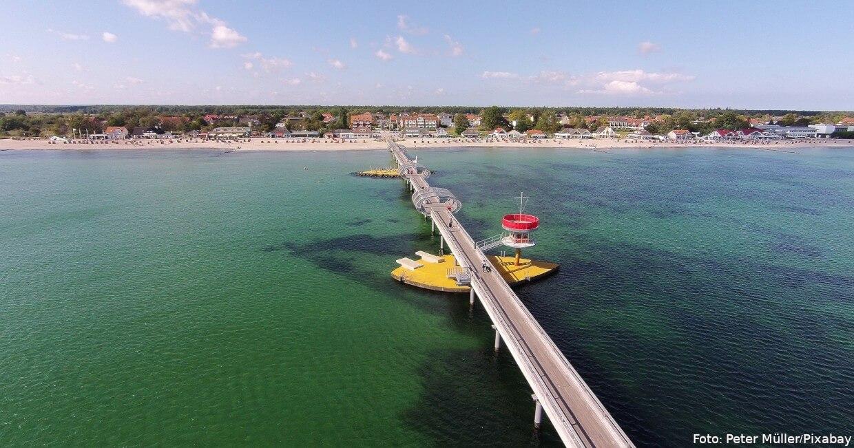 Kellenhusen: Seebrücke