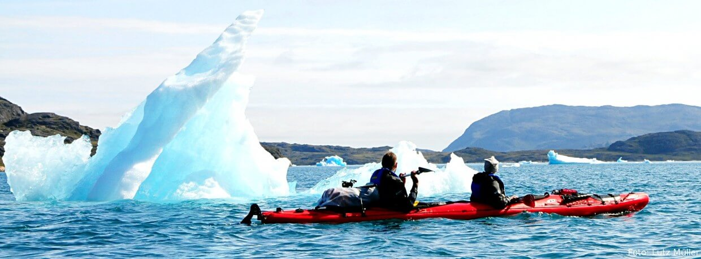 ... und kalt - Seekajaktouren weltweit