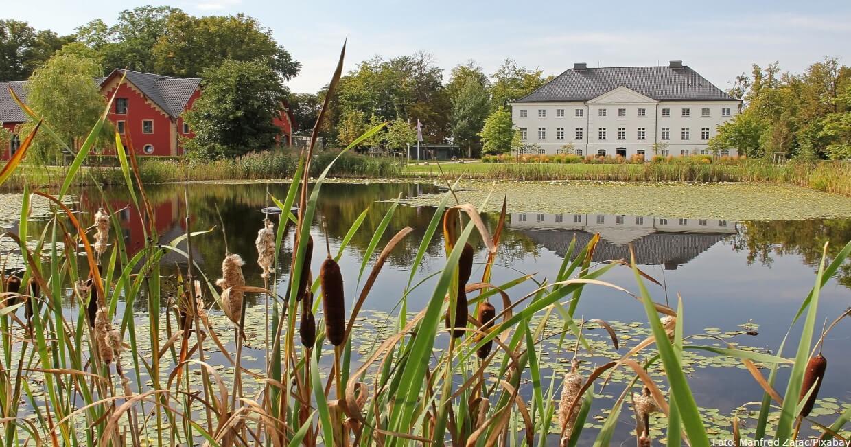 Idyllisch gelegen: Schloss Kalkhorst