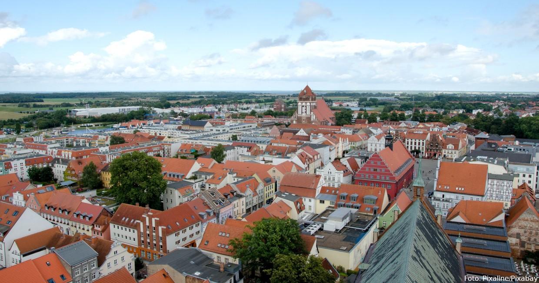 Greifswald von oben