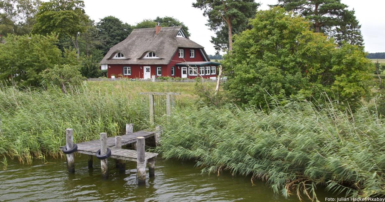 Reetdachhaus am Bodden