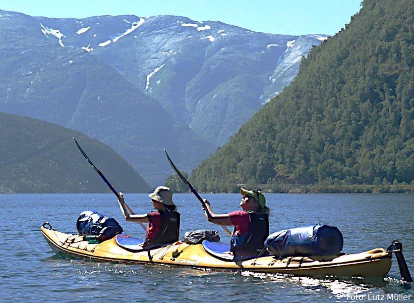 Kanuwanderungen mit Club Aktiv in Norwegen