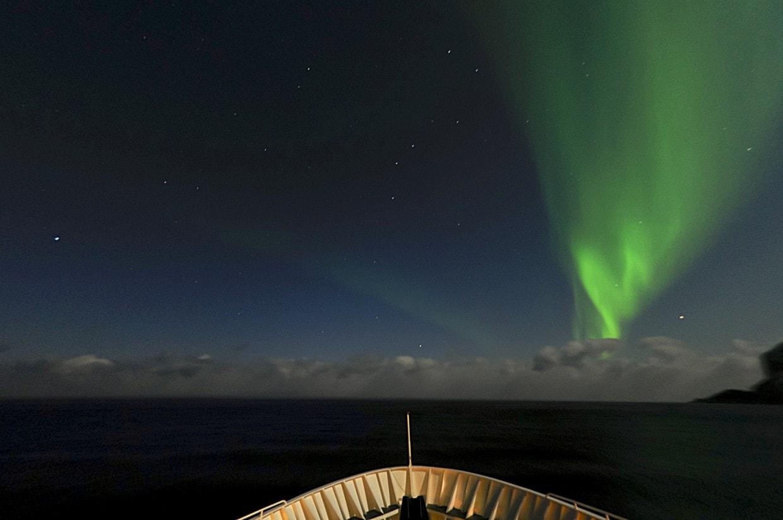 Nordlicht und Hurtigruten