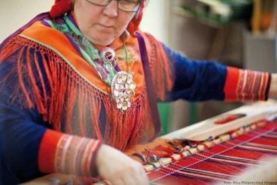 Traditionelles Handwerk in Lappland