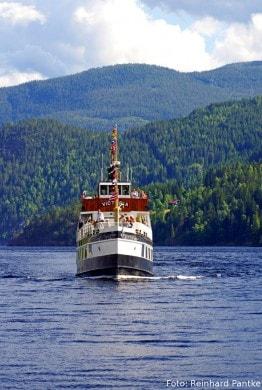 Eine der schönste Art zu reisen:  Mit den historischen Schiffen auf dem Telemark-Kanal