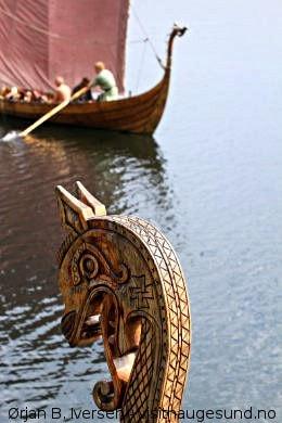 Haugesund, Heimat der Wikinger
